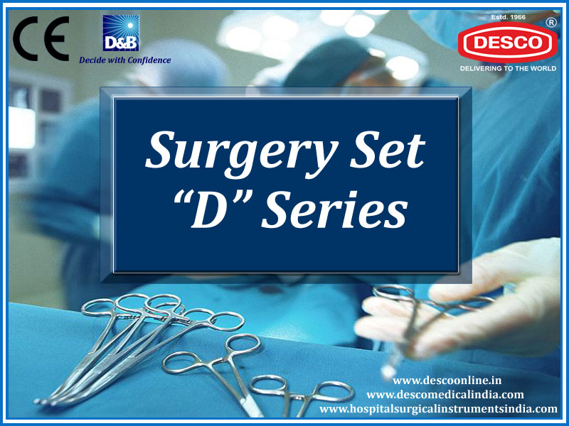 Surgical Instruments Sets D Series