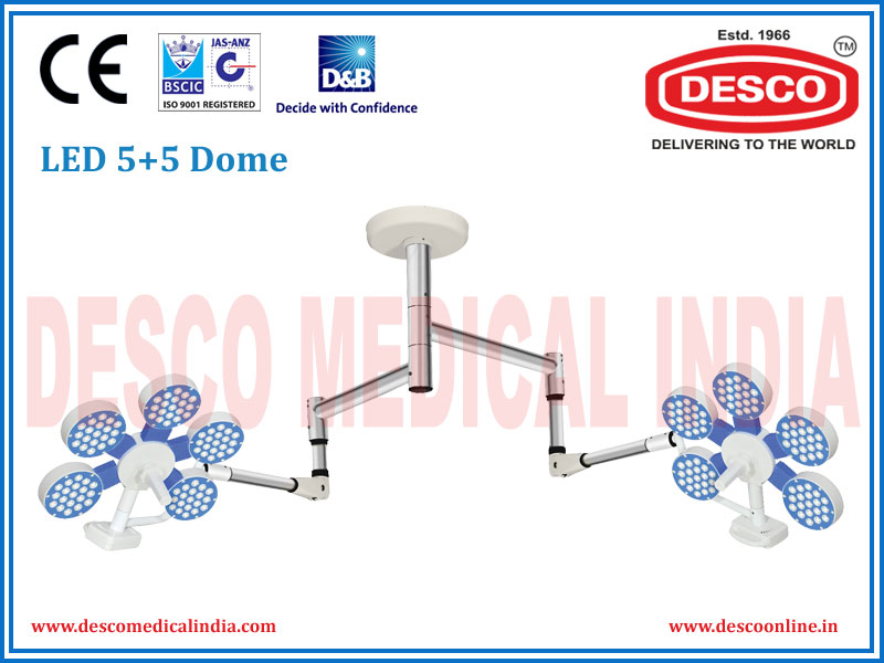 LED 5+5 Dome Lights