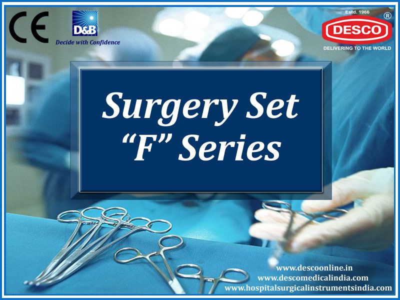 Surgical Instruments Sets F Series