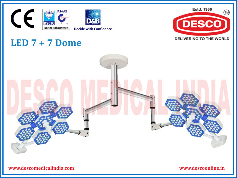 LED 7+7 Dome Lights