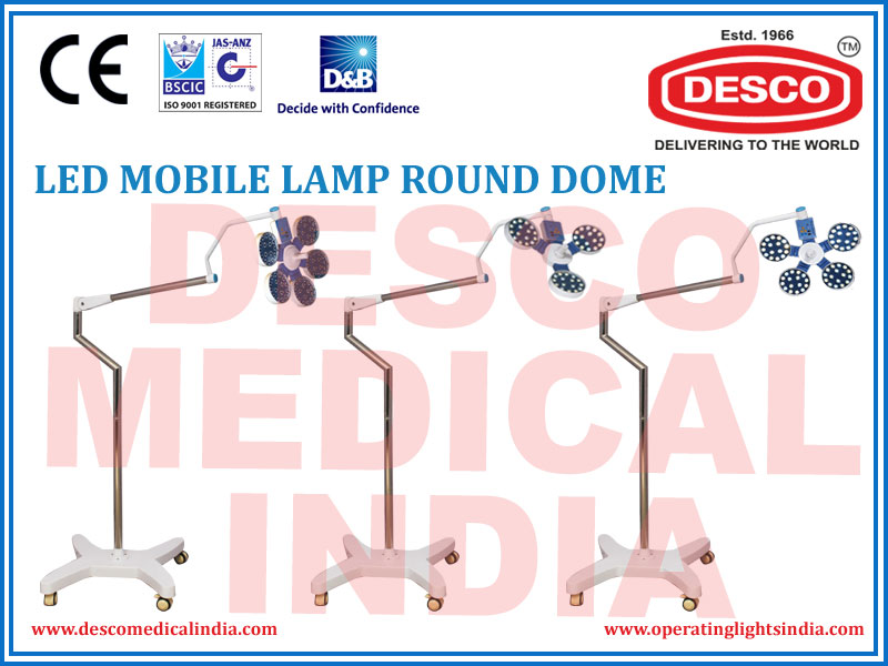LED MOBILE LAMP ROUND DOME