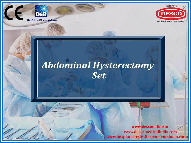 ABDOMINAL HYSTERECTOMY SET