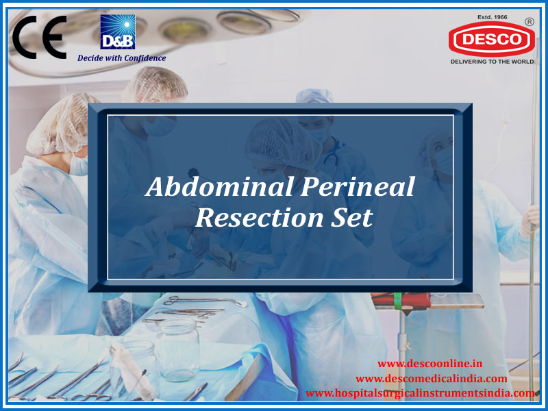 ABDOMINAL PERINEAL RESECTION SET