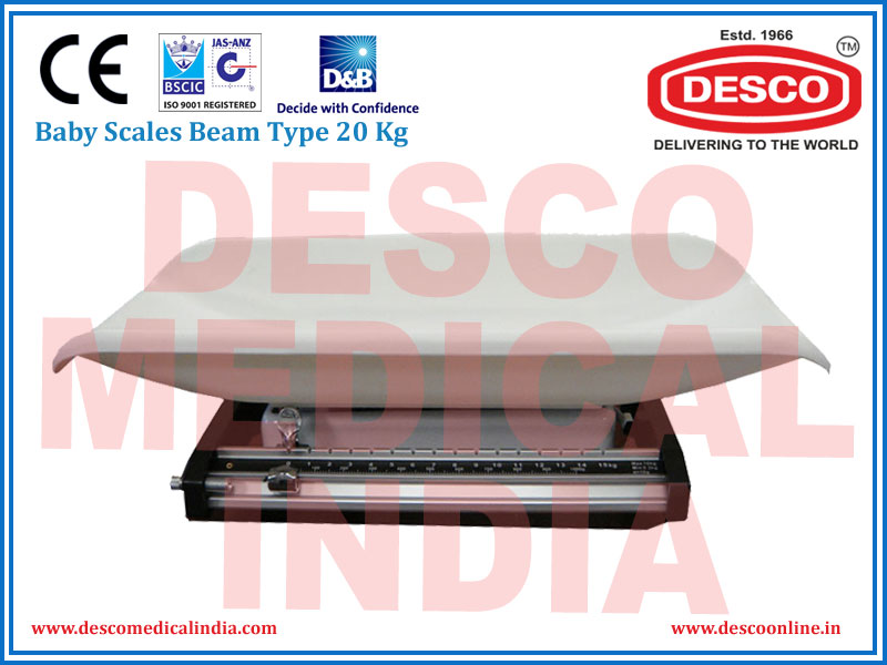 BABY SCALE BEAM TYPE 20 KG