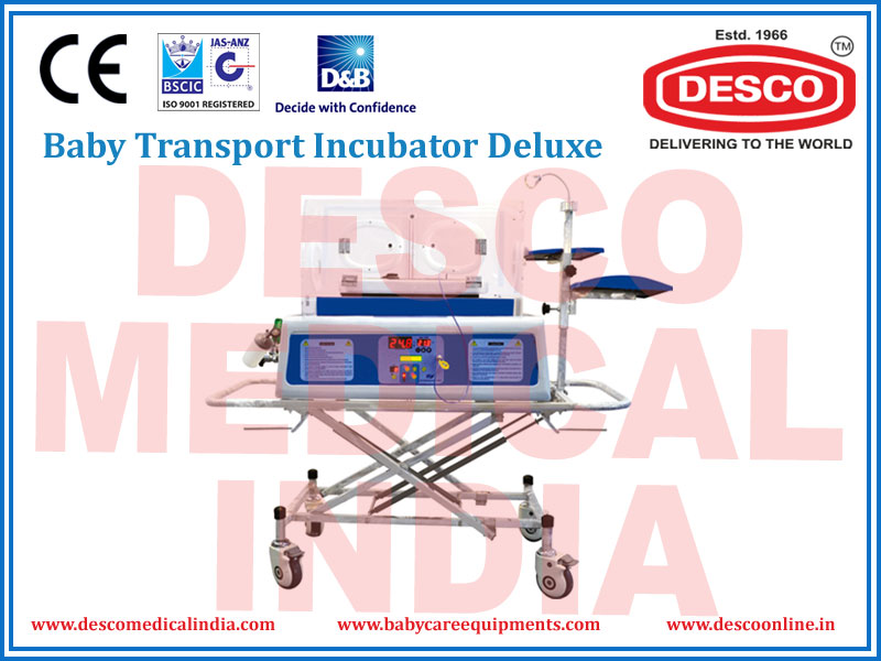 BABY TRANSPORT INCUBATOR DELUXE