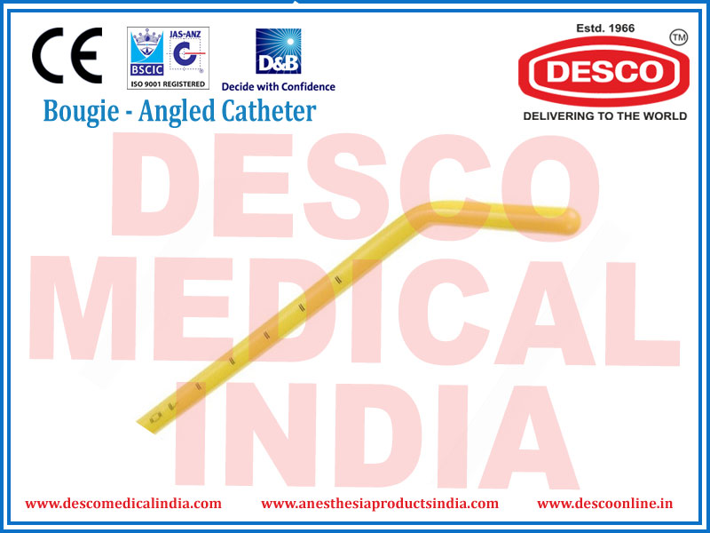 BOUGIE ANGLED CATHETER