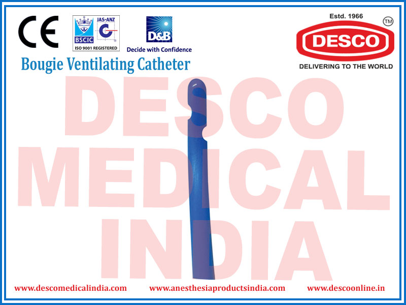 BOUGIE VENTILATING CATHETER