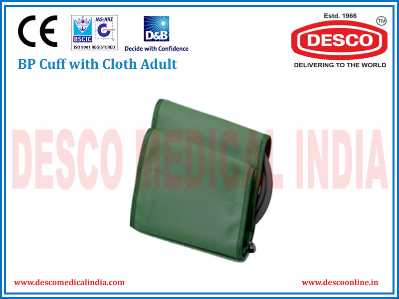 BP CUFF WITH CLOTH ADULT