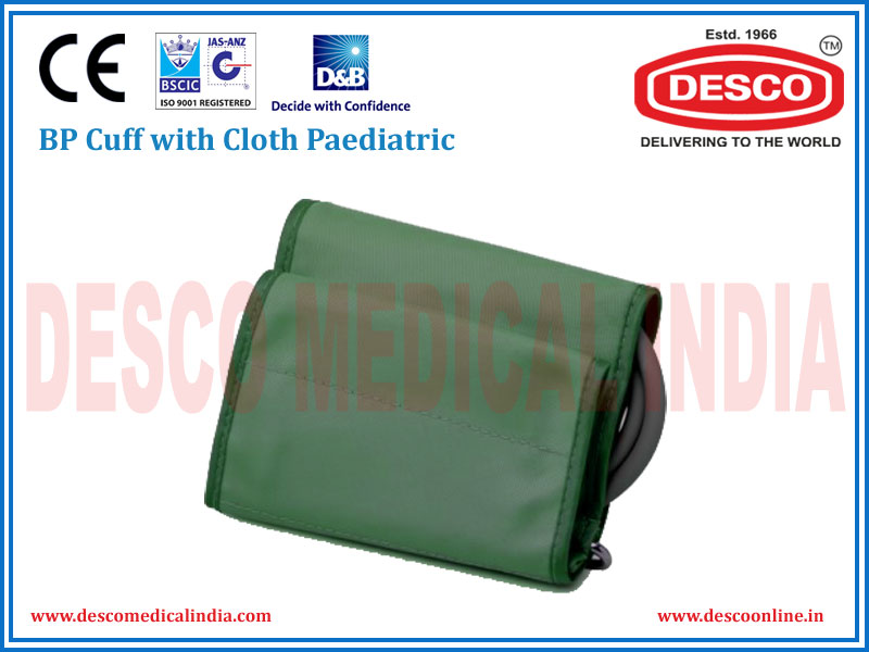 BP CUFF WITH CLOTH PAEDIATRIC
