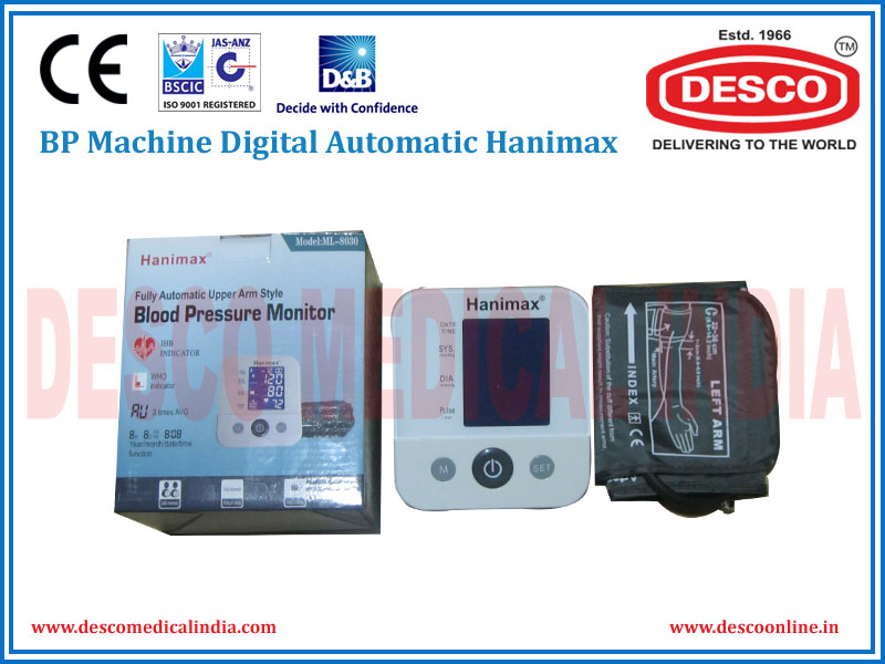 BP MACHINE DIGITAL AUTOMATIC HANIMAX