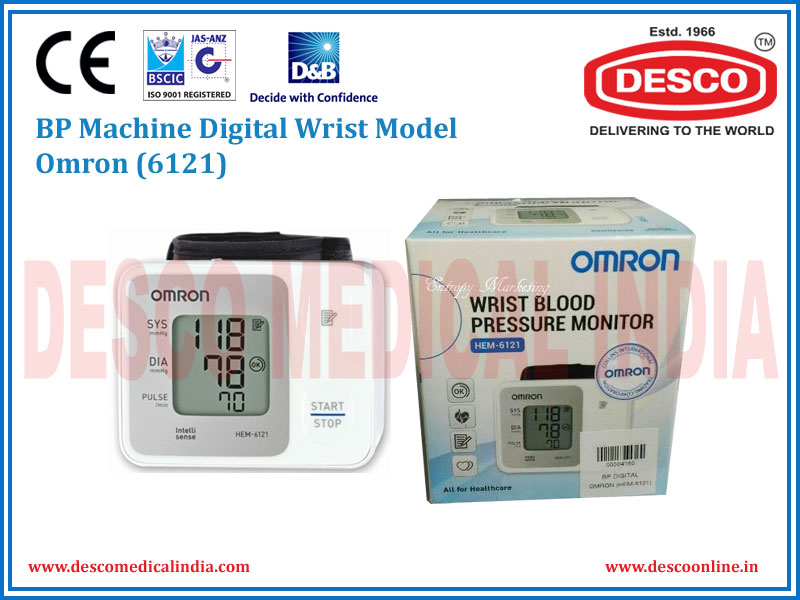 BP MACHINE DIGITAL WRIST MODEL OMRON 6121