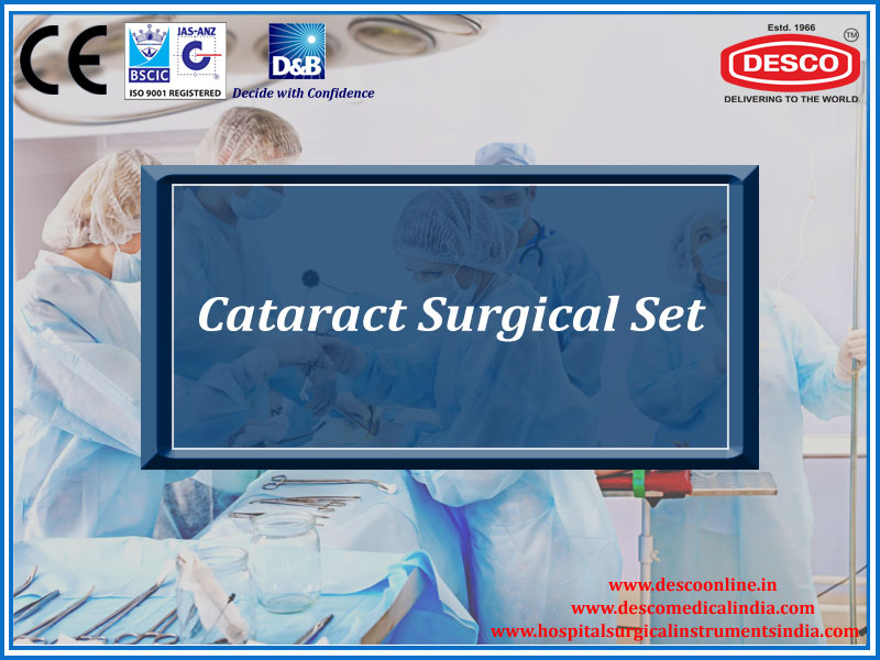 CATARACT SURGICAL SET