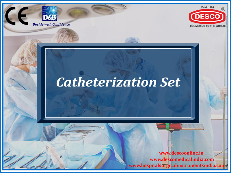 CATHETERIZATION SET