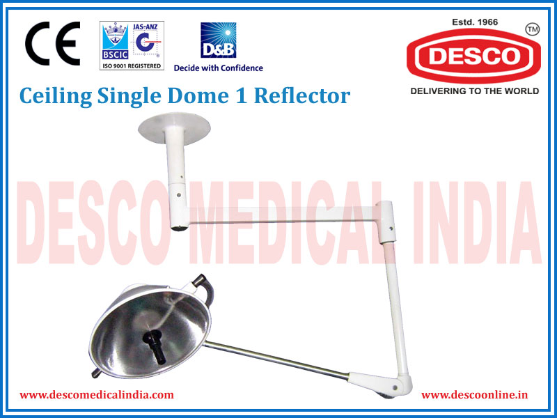CEILING SINGLE DOME 1 REFLECTOR