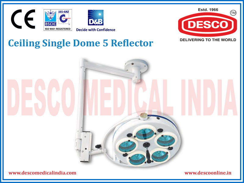 CEILING SINGLE DOME 5 REFLECTOR