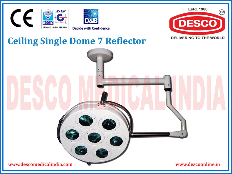 CEILING SINGLE DOME 7 REFLECTOR