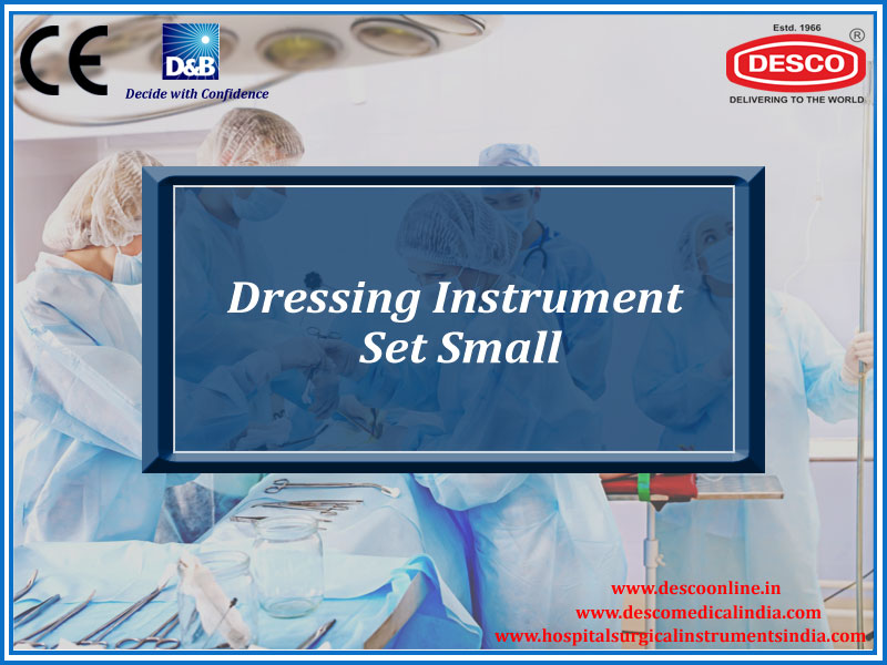 DRESSING INSTRUMENT SET SMALL