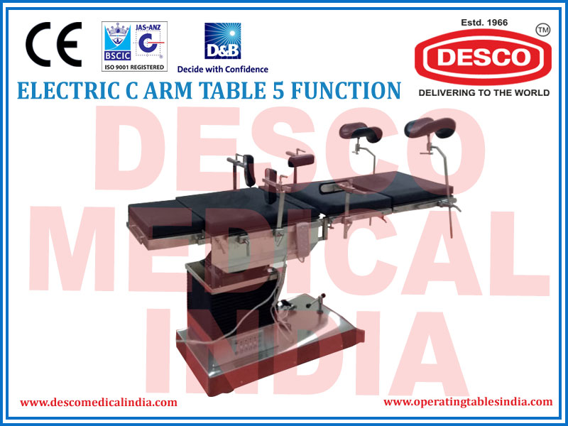 ELECTRIC C-ARM TABLE 5 FUNCTION