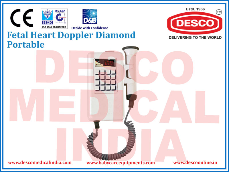 FETAL HEART DOPPLER DIAMOND PORTABLE