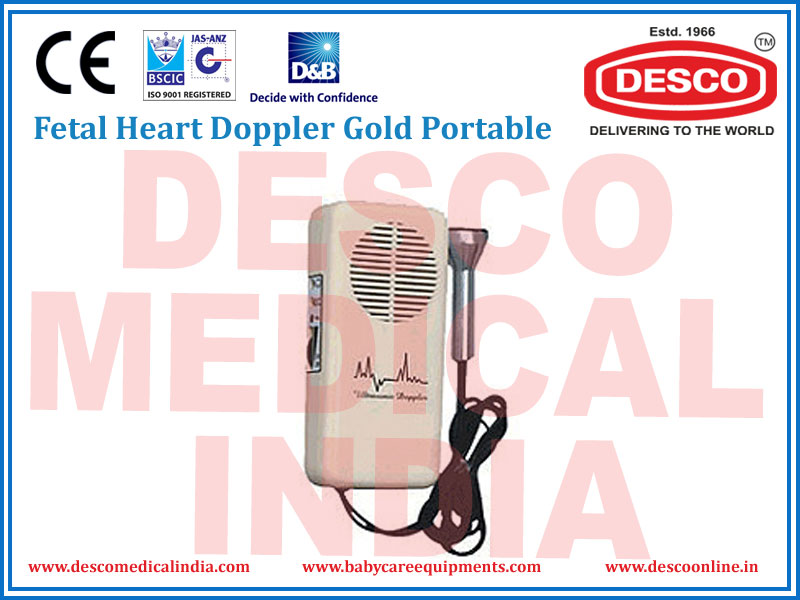 FOETAL HEART DOPPLER GOLD PORTABLE