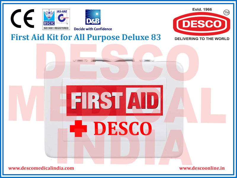 FIRST AID KIT FOR ALL PURPOSE DELUXE 134