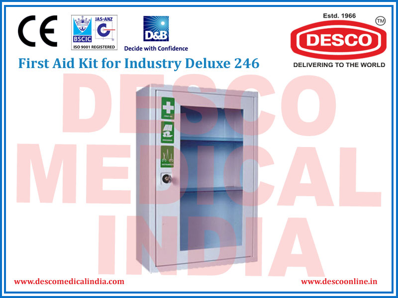 FIRST AID KIT FOR INDUSTRY DELUXE 244
