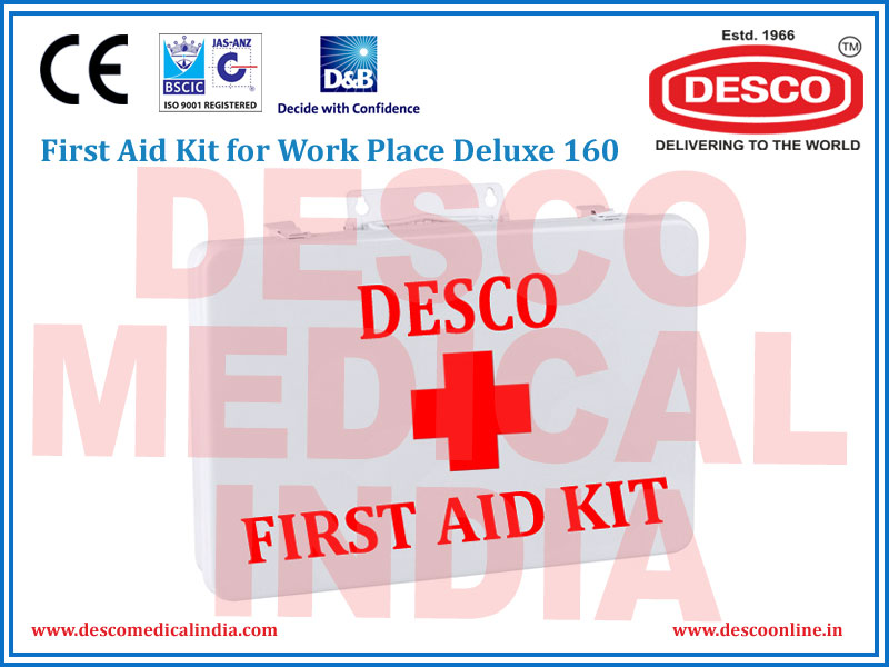 FIRST AID KIT FOR WORK DELUXE 155