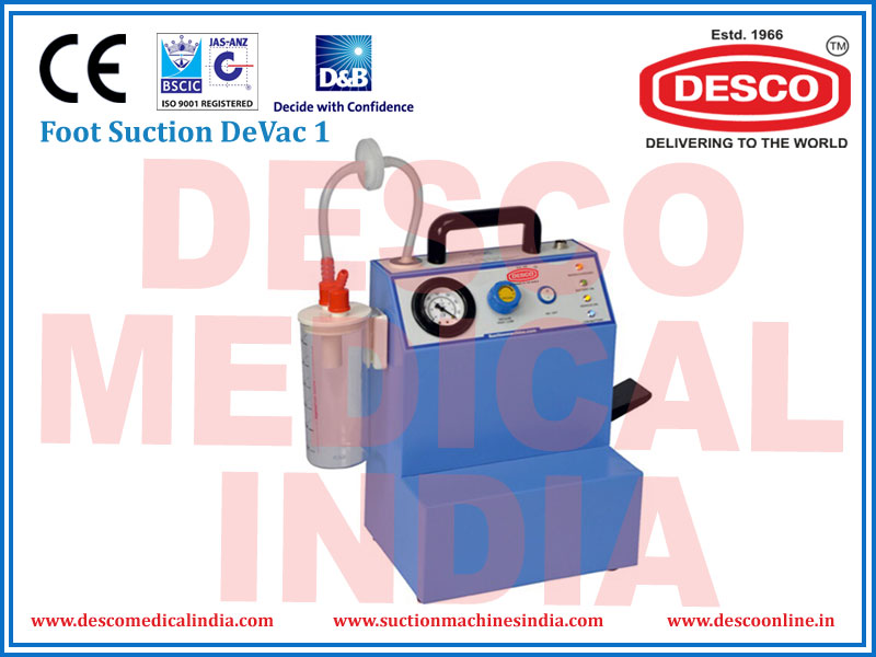 FOOT SUCTION DEVAC 1