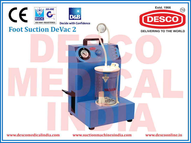 FOOT SUCTION DEVAC 2