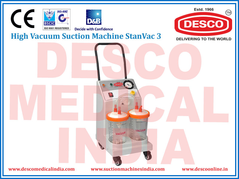 HIGH VACUUM SUCTION MACHINE STANVAC 3