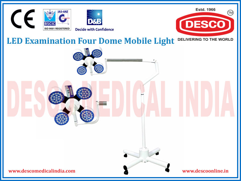LED EXAMINATION FOUR DOME MOBILE LIGHT