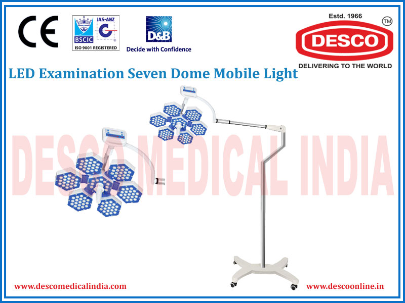LED EXAMINATION SEVEN DOME MOBILE LIGHT