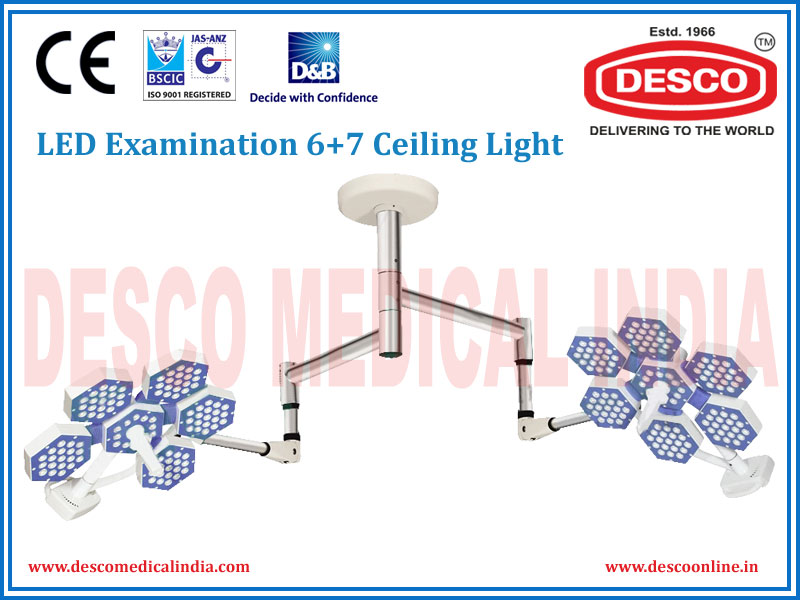 LED EXAMINATION SIX + SEVEN DOME CEILING LIGHT