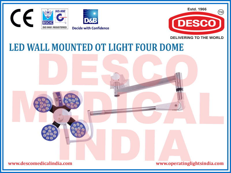 LED WALL MOUNTED OT LIGHT FOUR DOME