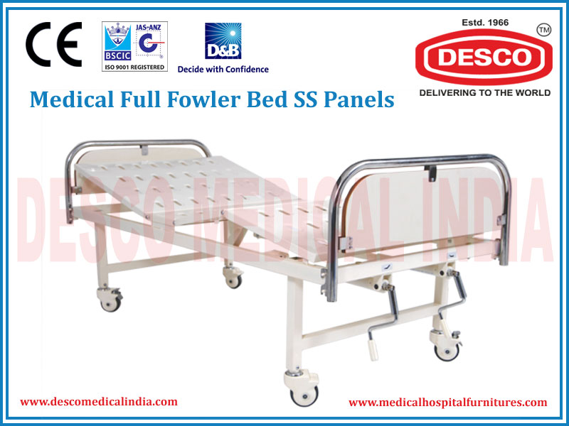 FULL FOWLER BED SS PANELS