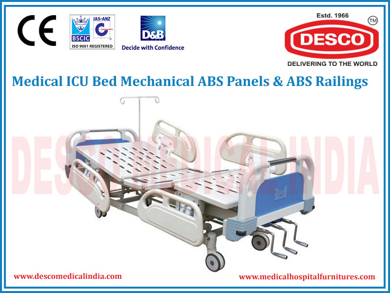 ICU BED MECHANICAL ABS PANELS & ABS RAILINGS