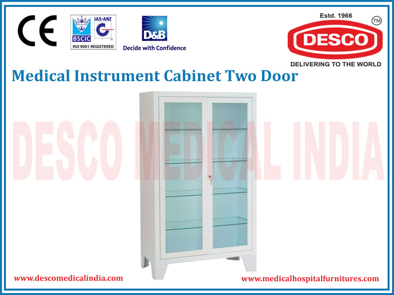 INSTRUMENT CABINET TWO DOOR