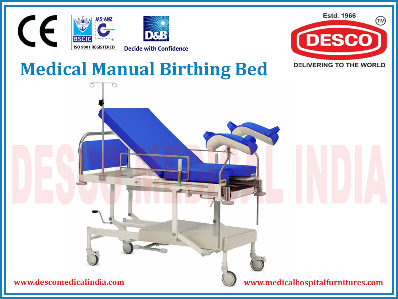 MANUAL BIRTHING BED