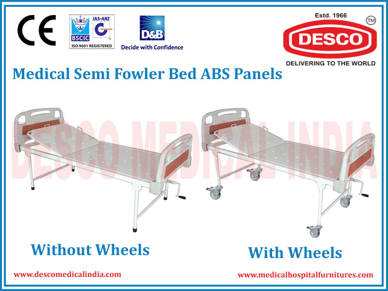 MEDICAL SEMI FOWLER BED ABS PANELS