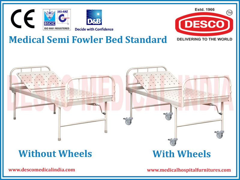 MEDICAL SEMI FOWLER BED STANDARD