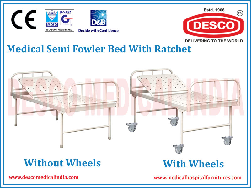 SEMI FOWLER BED WITH RATCHET