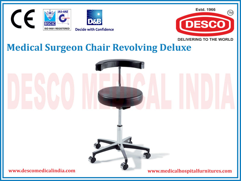 SURGEON CHAIR REVOLVING DELUXE