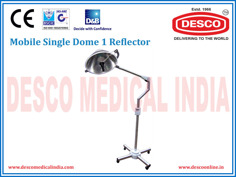 MOBILE SINGLE DOME 1 REFLECTOR