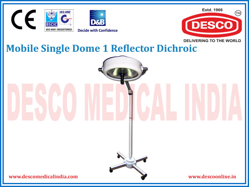MOBILE SINGLE DOME 1 REFLECTOR DICHROIC