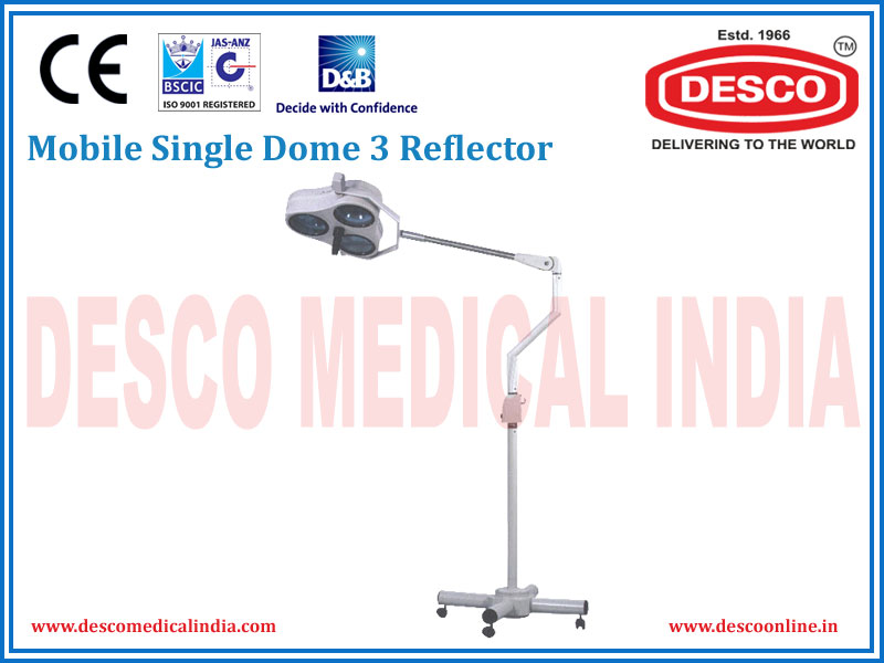 MOBILE SINGLE DOME 3 REFLECTOR