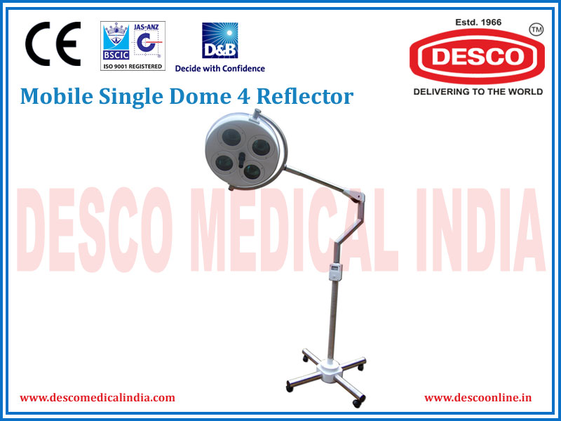 MOBILE SINGLE DOME 4 REFLECTOR