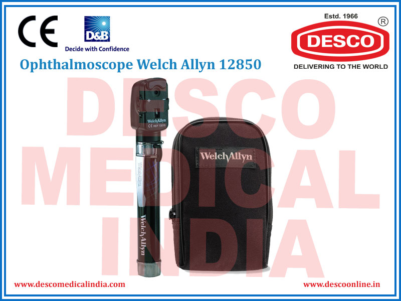 OPHTHALMOSCOPE WELCH ALLYN 12850