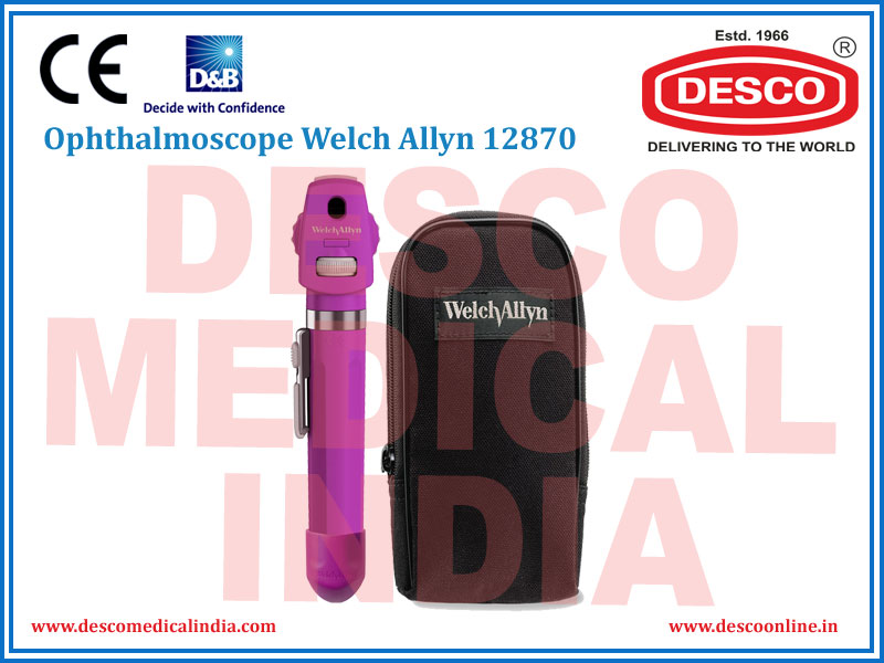 OPHTHALMOSCOPE WELCH ALLYN 12870