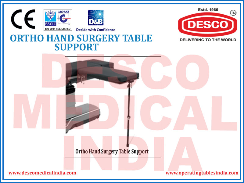 ORTHO HAND SURGERY TABLE SUPPORT