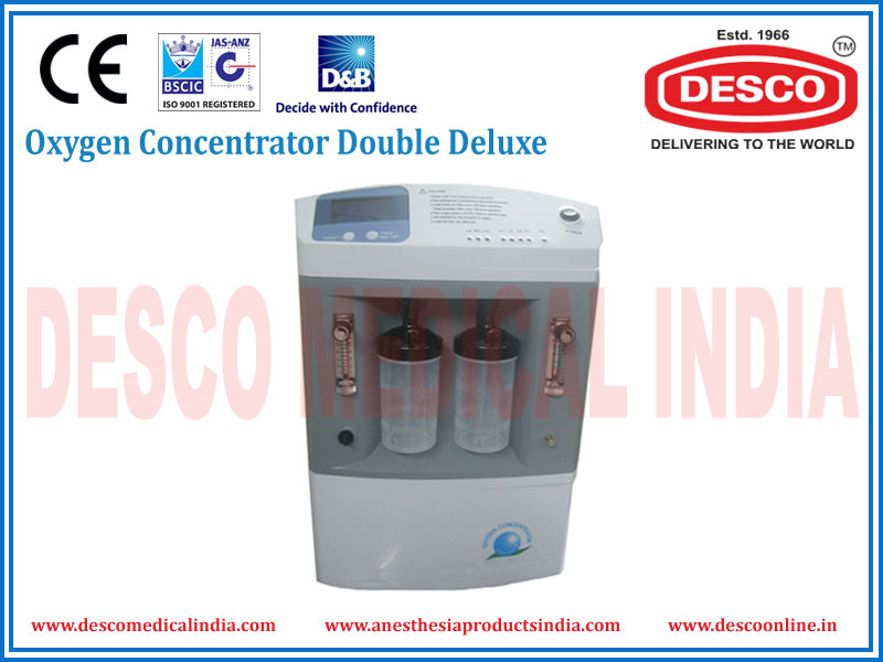 OXYGEN CONCENTRATOR DUAL FLOW DELUXE